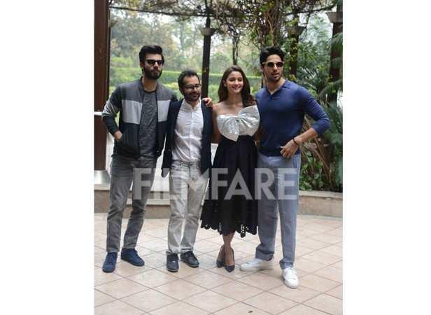 Fawad Khan, Shakun Batra, Alia Bhatt and Sidharth Malhotra