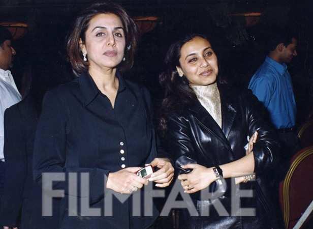 Rani Mukerji with Neetu Singh