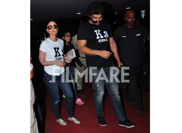 Kareena Kapoor Khan and Arjun Kapoor