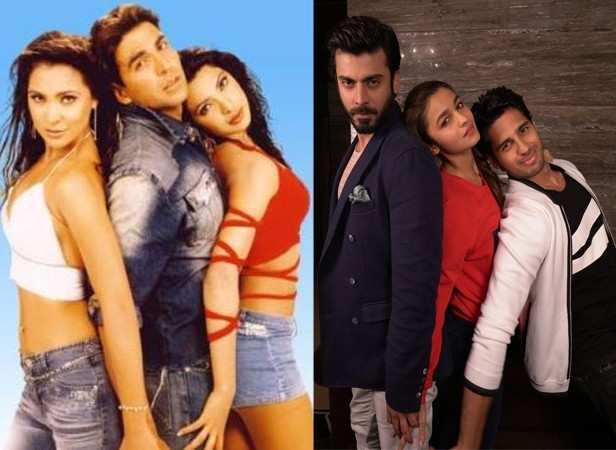 Fawad Khan, Alia Bhatt and Sidharth Malhotra