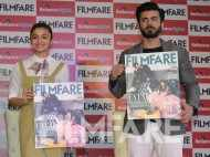 Alia Bhatt and Fawad Khan launch their Filmfare cover
