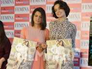 Kangana Ranaut and sister Rangoli launch their Femina cover