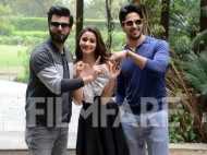 Alia Bhatt, Fawad Khan and Sidharth Malhotra continue the Kapoor & Sons mania