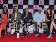 Patralekha, Tara Alisha Berry, Gaurav Arora, Vikram Bhatt and Mahesh Bhatt clicked at Love Games press conference