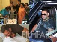 Salman Khan and family family welcomes Arpita and Aayush Sharma's son Ahil