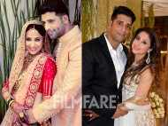 Inside pictures from Urmila Matondkar's wedding and reception