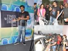 Arjun Kapoor flags off an all-women's drive