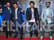 Anil Kapoor, Varun Dhawan, Arjun Kapoor and Ayushmann Khurrana party together