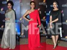 Madhuri Dixit-Nene, Aditi Rao Hydari and Huma Qureshi step out together