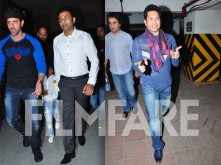 Hrithik Roshan and Sachin Tendulkar watch Batman v Superman