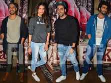 Varun Dhawan, Athiya Shetty and Ayushmann Khurrana watch Ki & Ka with Arjun Kapoor