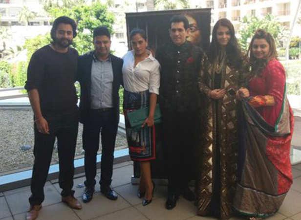 Jackky Bhagnani, Bhushan Kumar, Richa Chadha, Omung Kumar, Aishwarya Rai Bachchan, Vanita Kumar