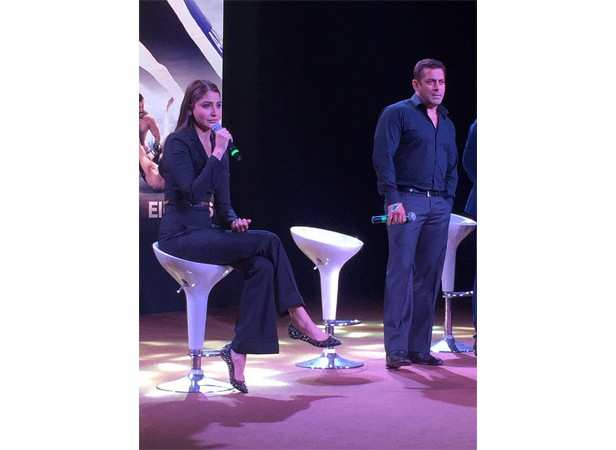 Anushka Sharma and Salman Khan