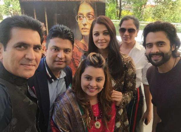 Omung Kumar, Bhushank Kumar, Vanita Kumar, Aishwarya Rai Bachchan, Richa Chadha and Jackky Bhagnani