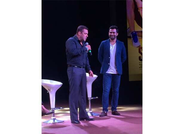 Salman Khan and Ali Abbas Zafar