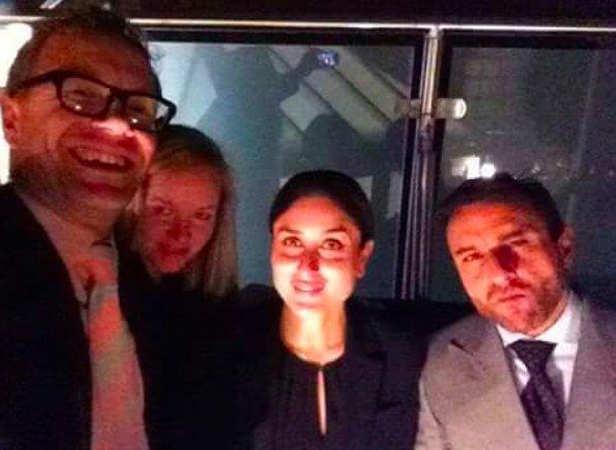 Saif Ali Khan and Kareena Kapoor Khan with friends