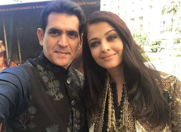 Omung Kumar and Aishwarya Rai Bachchan