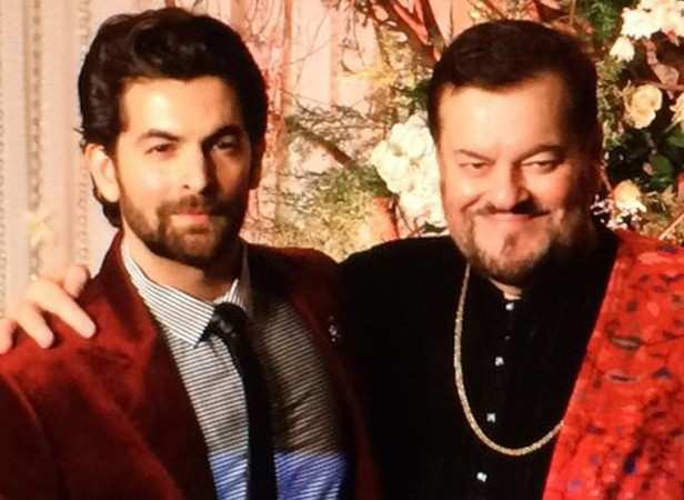 Neil Nitin Mukesh and Nitin Mukesh