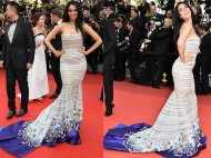 First pictures of Mallika Sherawat's dazzling Cannes appearance