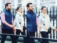 Saif Ali Khan and Kareena Kapoor Khan spotted chilling in London