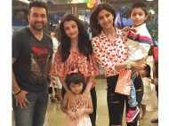 Aishwarya Rai Bachchan attends Shilpa Shetty Kundra's son Vivaan's birthday party