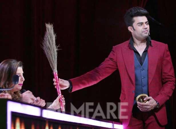 Manish Paul and Farah Khan