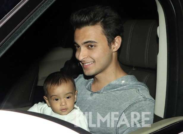 Aayush Sharma and Ahil