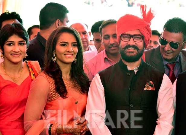 Geeta Phogat and Aamir Khan