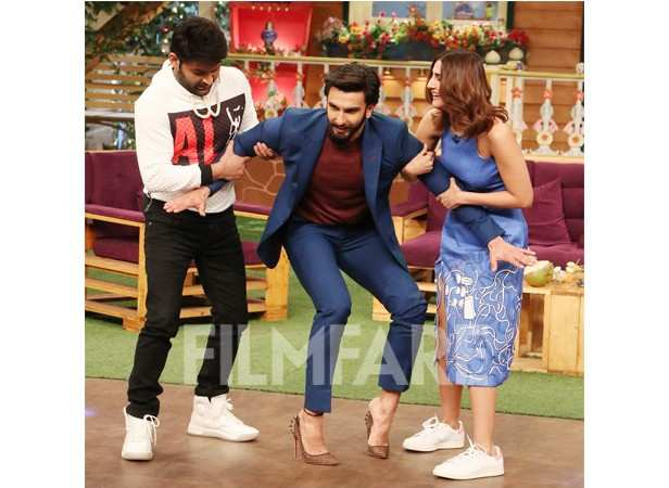 Kapil Sharma, Ranveer Singh and Vaani Kapoor