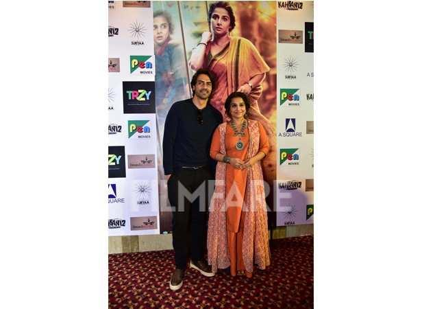 Vidya Balan and Arjun Rampal