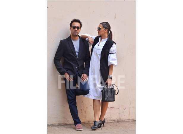 Neha Dhupia and Ranvir Shorey