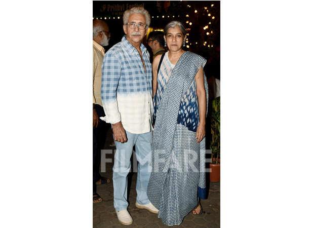 Nasseruddin Shah and Ratna Pathak Shah