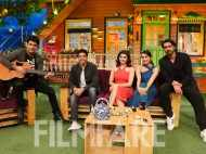 Farhan Akhtar, Shraddha Kapoor and the Rock On 2 cast have fun on The Kapil Sharma Show