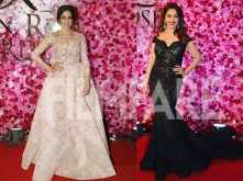 Sridevi and Madhuri Dixit Nene take the red carpet by storm!