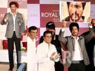 Shah Rukh Khan looking dapper as hell at his book launch event