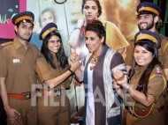 Vidya Balan has fun at Kahaani 2 promotions