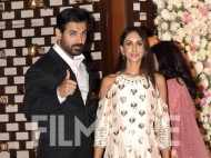 John Abraham and Priya Runchal make a dazzling appearance at Mukesh and Nita Ambani's party