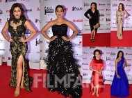 Amruta Khanvilkar, Pooja Sawant, Urmila Kanitkar, Neha Pendse, Spruha Joshi, Prarthana Behere sizzle on the Karrm Filmfare Awards (Marathi)