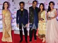 Sonali Kulkarni, Neena Kulkarni, Sharad Kelkar and Shankar Mahadevan light up the Karrm Filmfare Awards (Marathi)