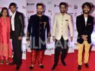 Avadhoot Gupte, Vaibhav Tatwawdi,Prathamesh Parab  and Siddarth Jadhav lead the boy brigade at the Karrm Filmfare Awards  (Marathi)