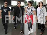 Sushant Singh Rajput, Neha Dhupia, Sonakshi Sinha and Hema Malini spotted at the airport