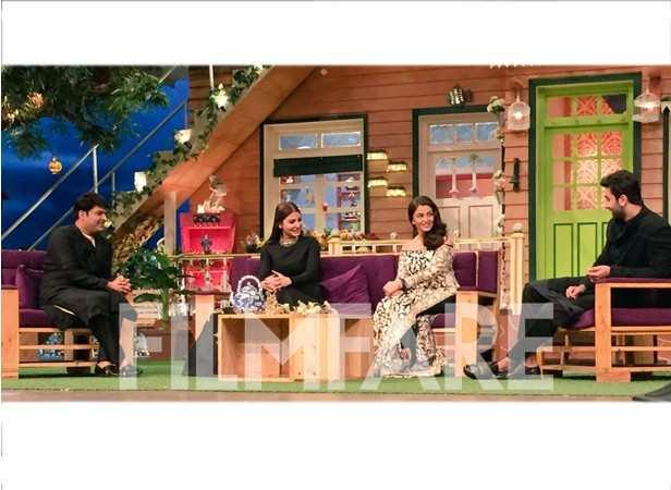 Kapil Sharma, Anushka Sharma, Aishwarya Rai Bachchan and Ranbir Kapoor