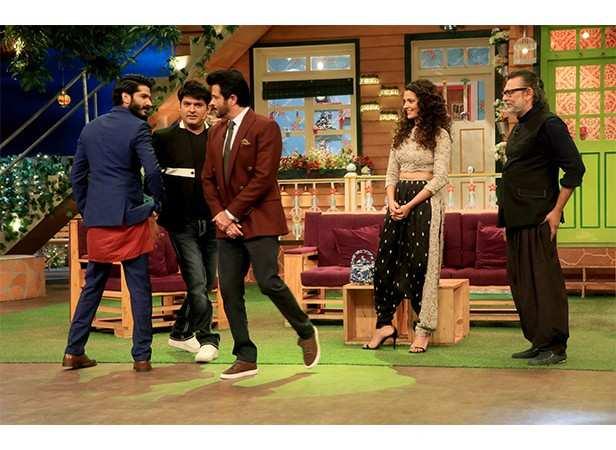 Harshvardhan Kapoor, Anil Kapoor, Saiyami Kher and Rakeysh Omprakash Mehra