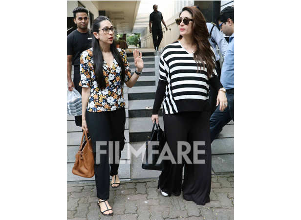 Kareena Kapoor and Karisma Kapoor