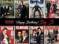 Amitabh Bachchan's journey through Filmfare covers