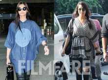 Shraddha Kapoor and Sonam Kapoor battle it out at the airport