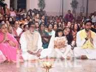 Amitabh, Jaya, Abhishek, Aishwarya and Shweta Bachchan celebrate Durga Ashtami