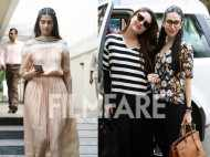 Sonam and Rhea Kapoor catch up with Karisma Kapoor and Kareena Kapoor Khan