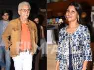 Naseeruddin Shah and  Konkona Sen Sharma spotted at the Lipstick Under My Burkha screening at MAMI