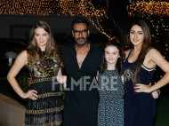 Ajay Devgn, Sayyeshaa and the Shivaay cast celebrate Diwali
